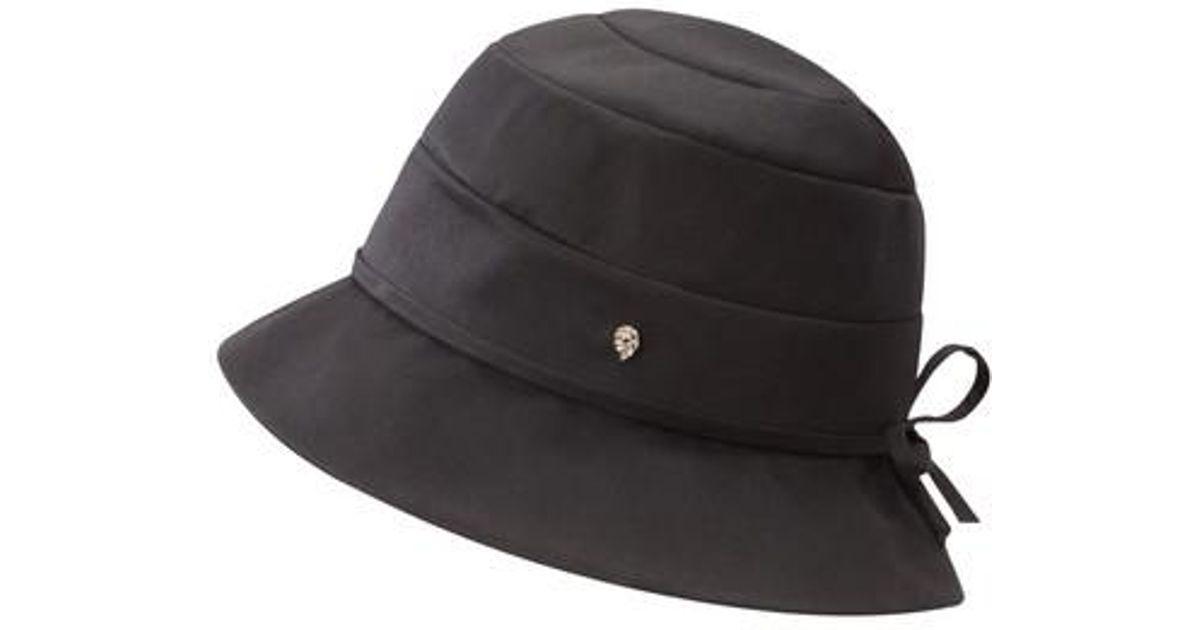 653ee4d679c Lyst - Helen Kaminski Water Resistant Cloche in Black