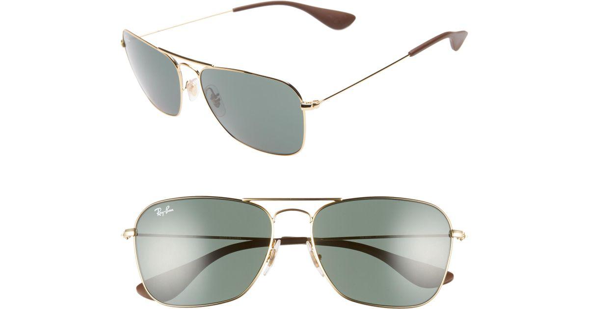 ceb470e9928 Lyst - Ray-Ban 58mm Navigator Sunglasses