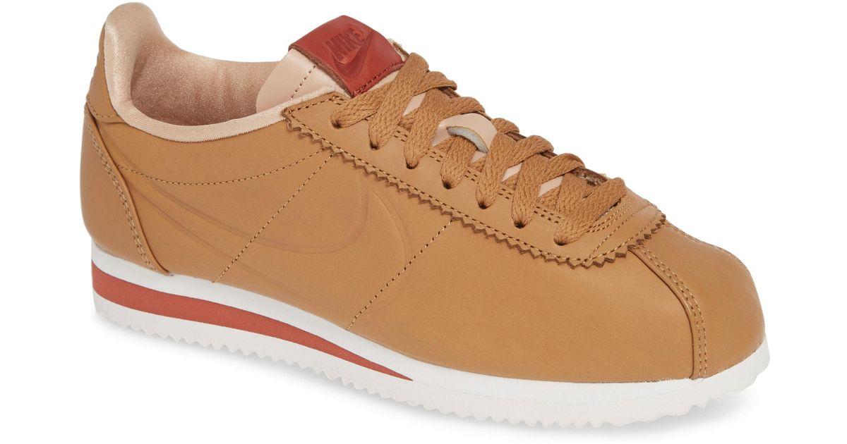 competitive price 974a2 6bb97 Nike Brown La Cortez X Maria Sharapova Premium Sneaker