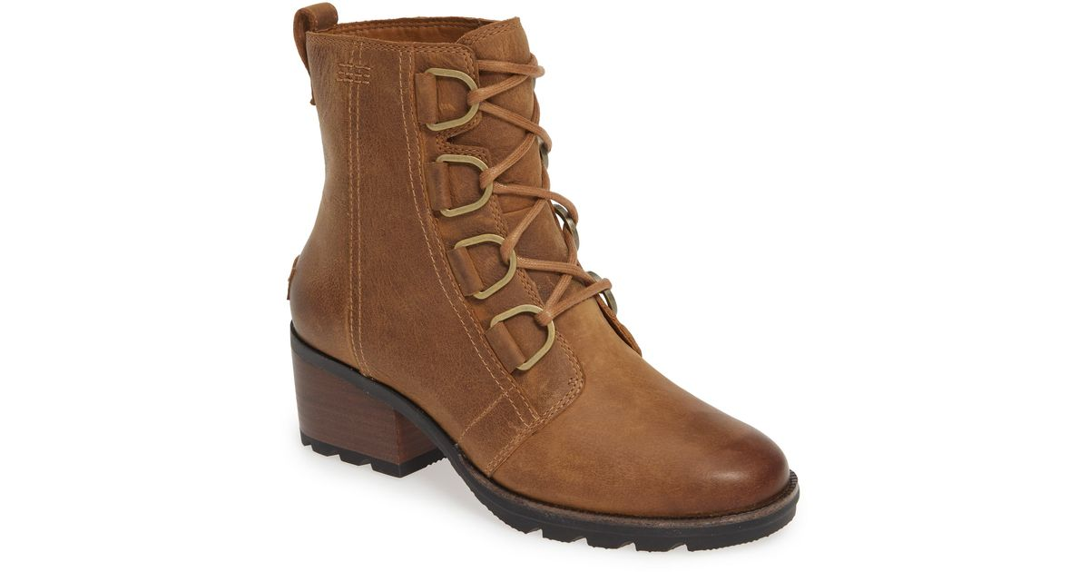 Sorel Cate Waterproof Lace-up Boot in
