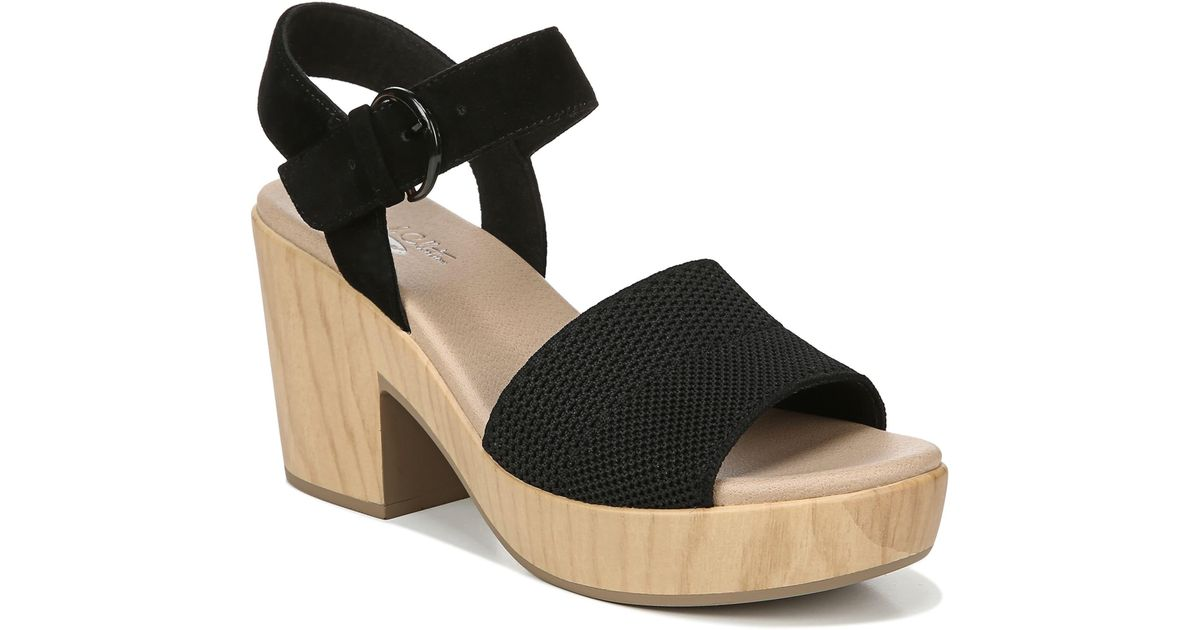 8c0c093d7dd Dr. Scholls Black Brickell Platform Sandal