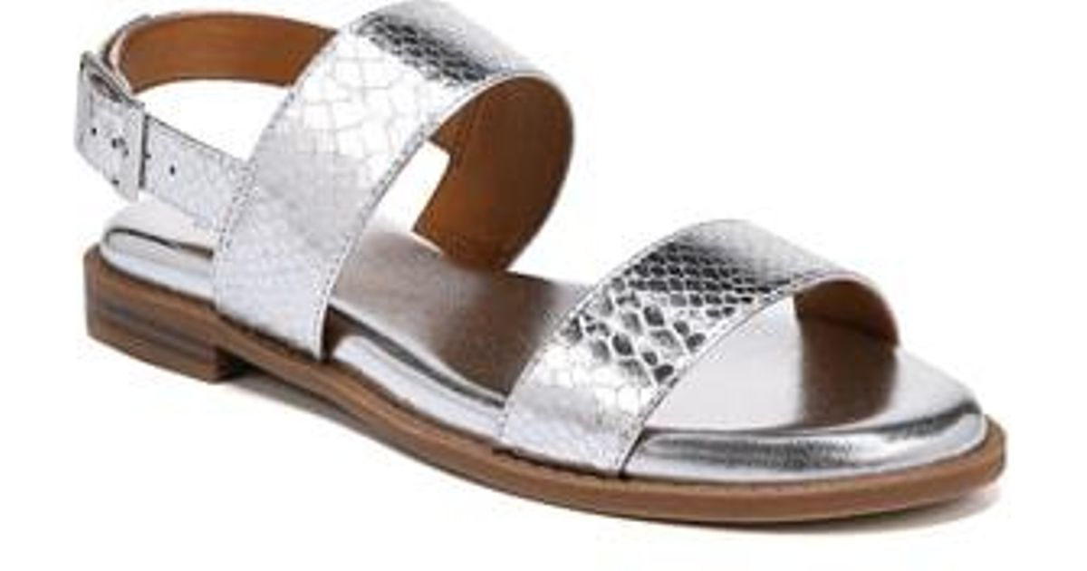 ea939e0825bd4 Lyst - Franco Sarto Velocity Sandal in Metallic