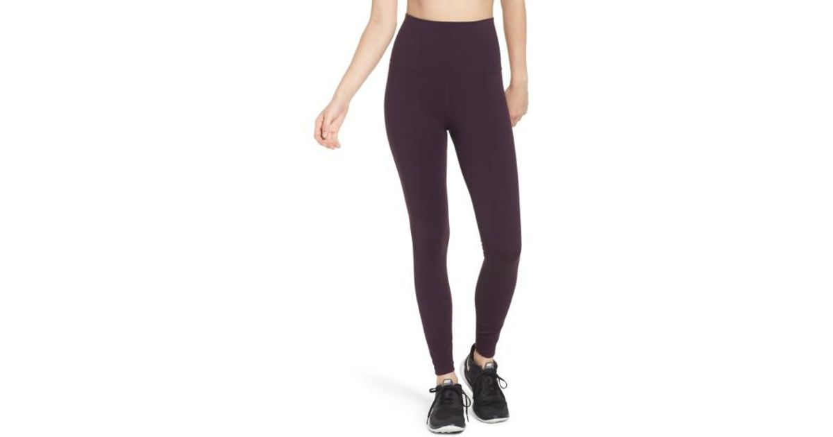 piękno słodkie tanie super tanie Nike Purple Power Legendary High Waist Tights