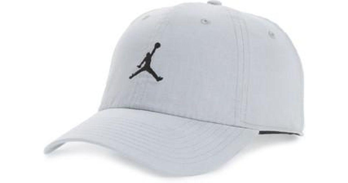 b73f4677 Nike Jordan H86 Jumpman Washed Baseball Cap in Blue for Men - Lyst