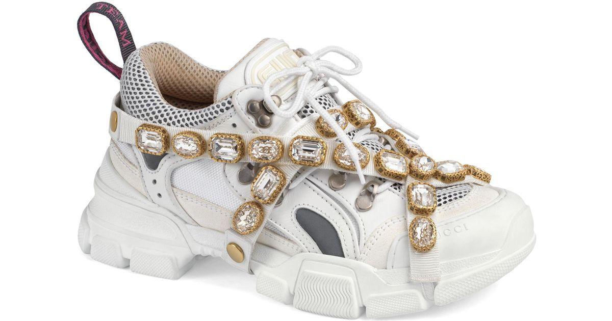 Gucci Flashtrek Jewel Embellished
