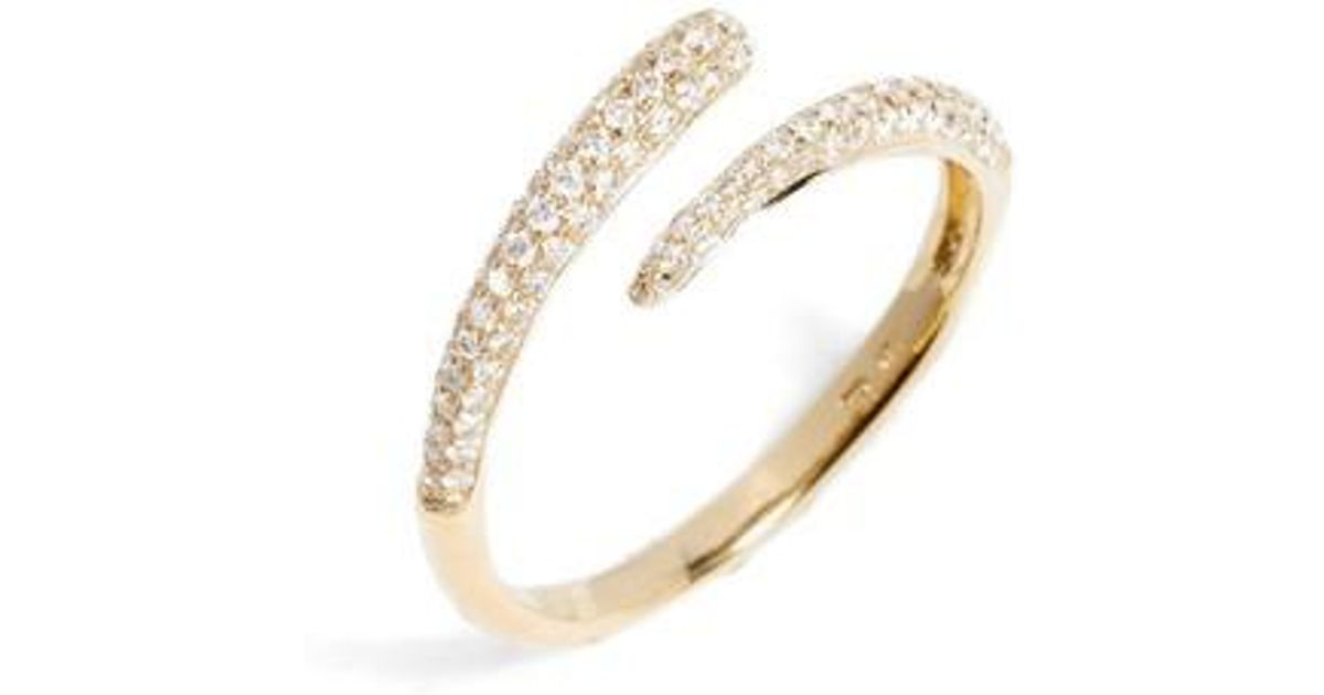 gold by pave dome pin eternity diamond micro zinafinejewelry band three row