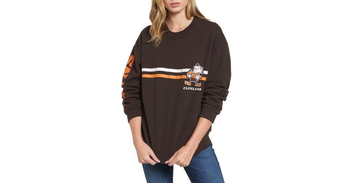 e0419f2b Junk Food Black Retro Nfl Team Sweatshirt