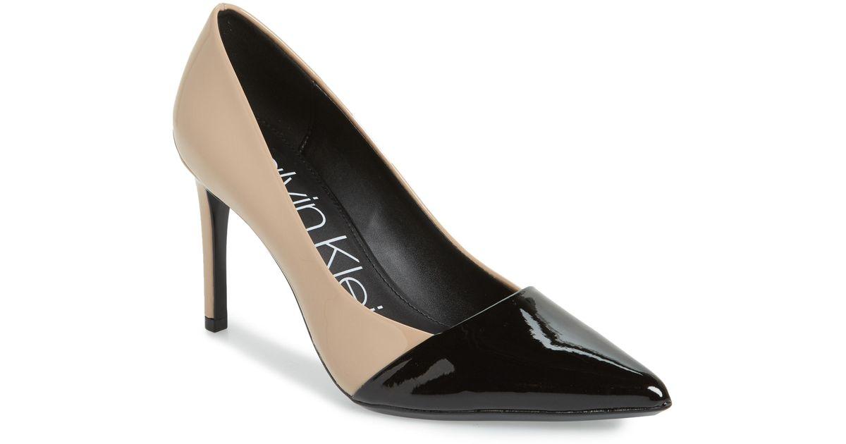 Calvin Klein Roslyn Pointed Toe Pump in