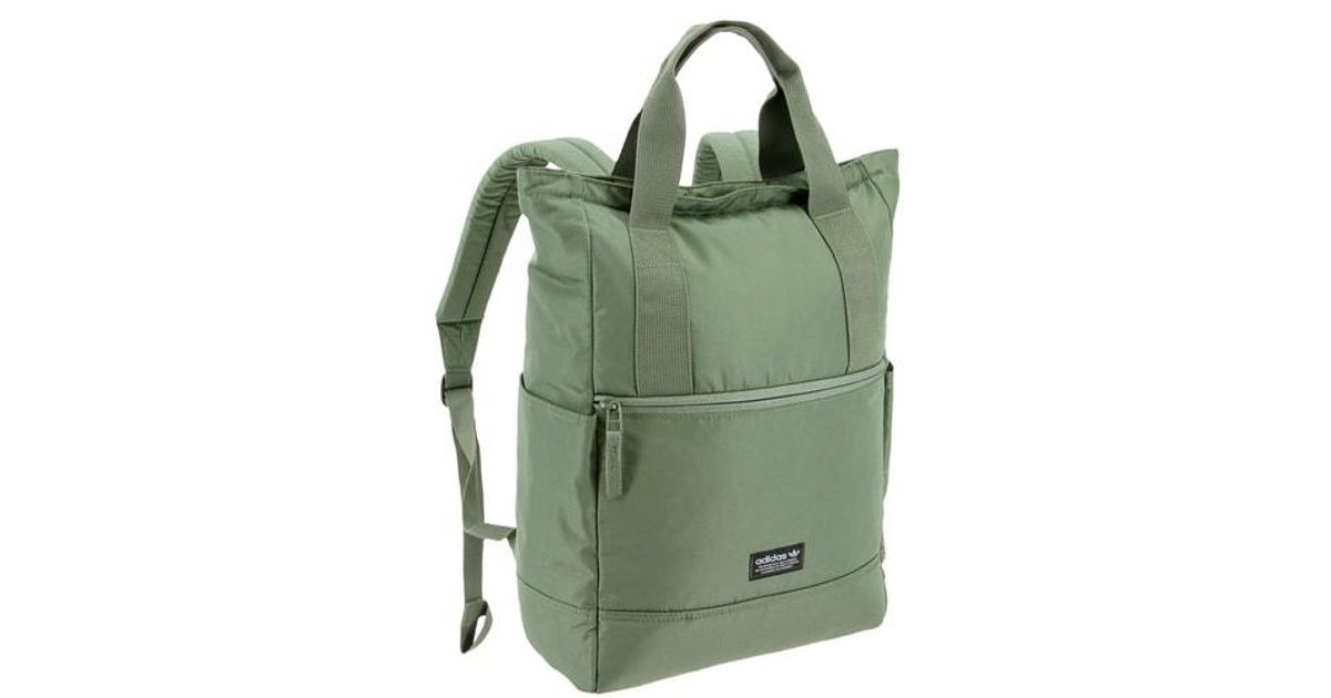251541a01505 Lyst - adidas Originals Tote Pack Ii Backpack in Green