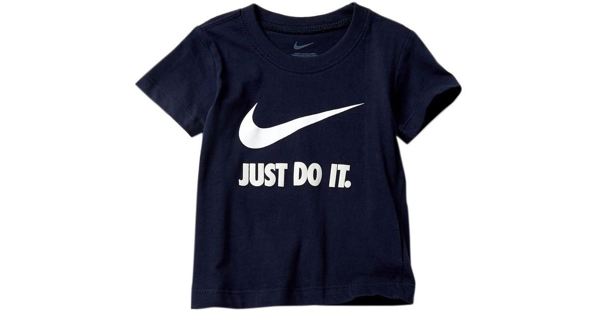 quality design 4d9a8 c8e2f Lyst - Nike Short Sleeve Tee (baby Boys) in Blue for Men