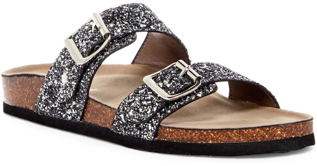 Brando Glitter Slide Sandal
