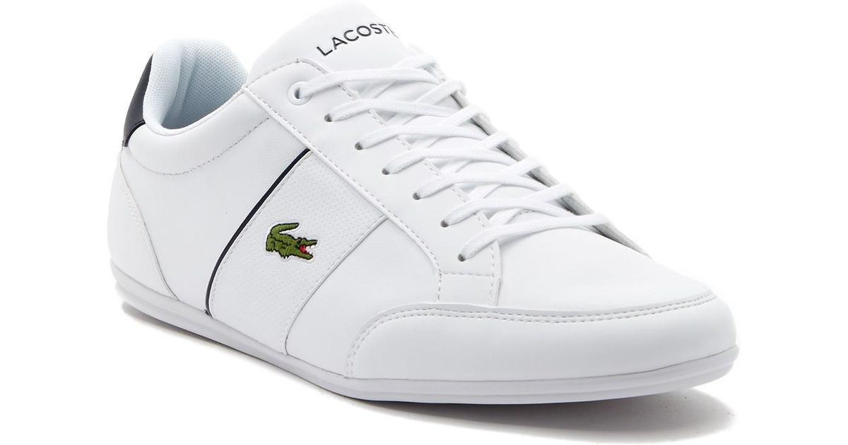 a47ccd69f28b Lyst - Lacoste Nivolor Leather Sneaker in Blue for Men