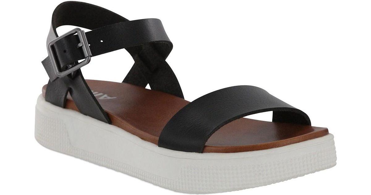 MIA Abby Open Toe Platform Sandal in