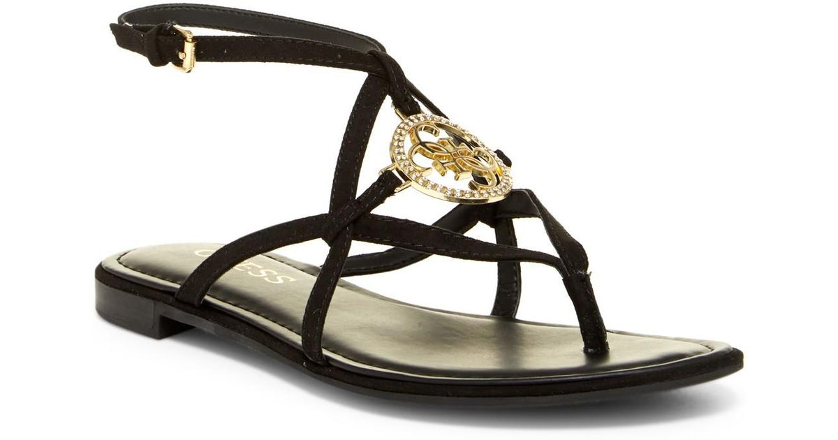 Guess Strappy Guess Black Guess Romie Romie Black Sandal Strappy Romie Strappy Sandal Black tdsQrCxh