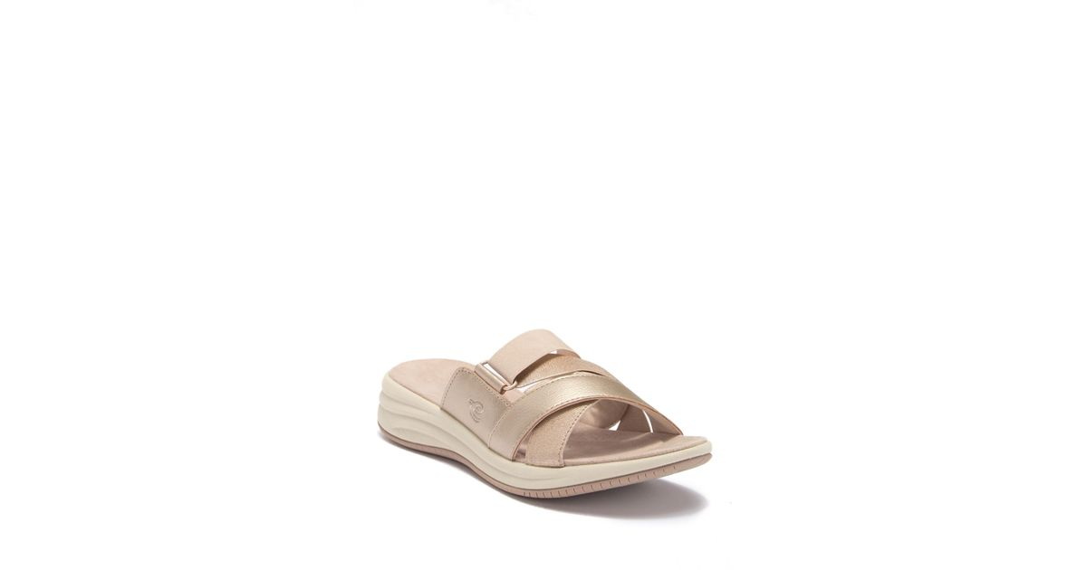 263eb732b18 Lyst - Easy Spirit Drones 2 Slide Sandal - Wide Width Available