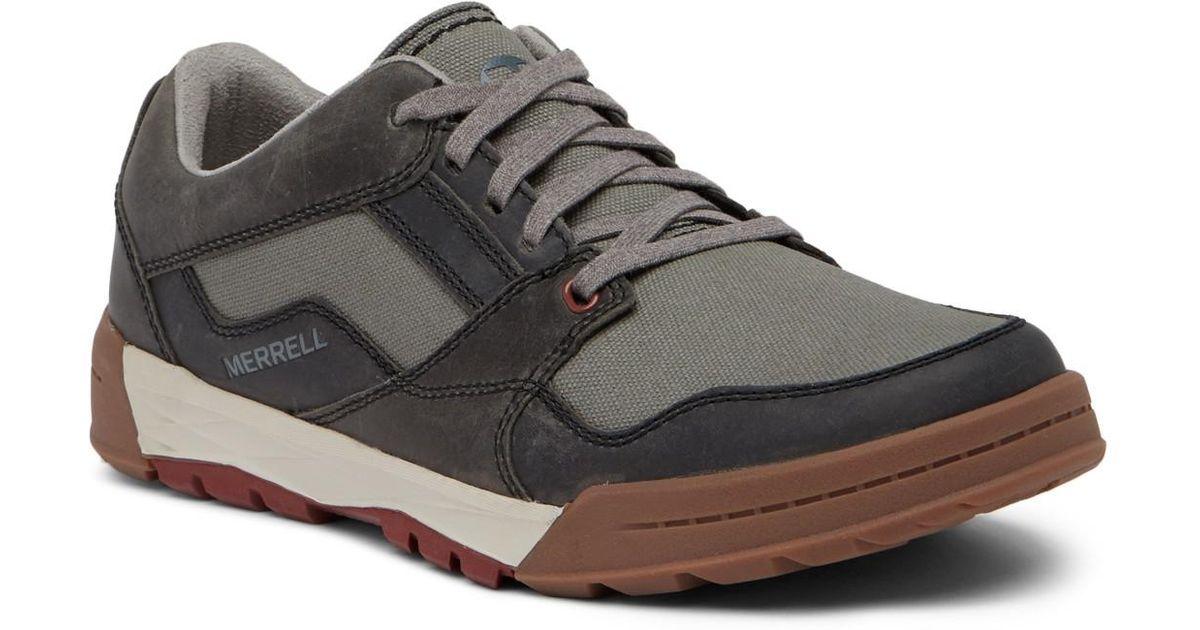 new cheap elegant shoes finest selection Merrell Multicolor Berner Shift Lace-up Sneaker for men