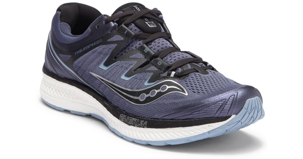 Saucony Blue Triumph Iso 4 Sneaker for men