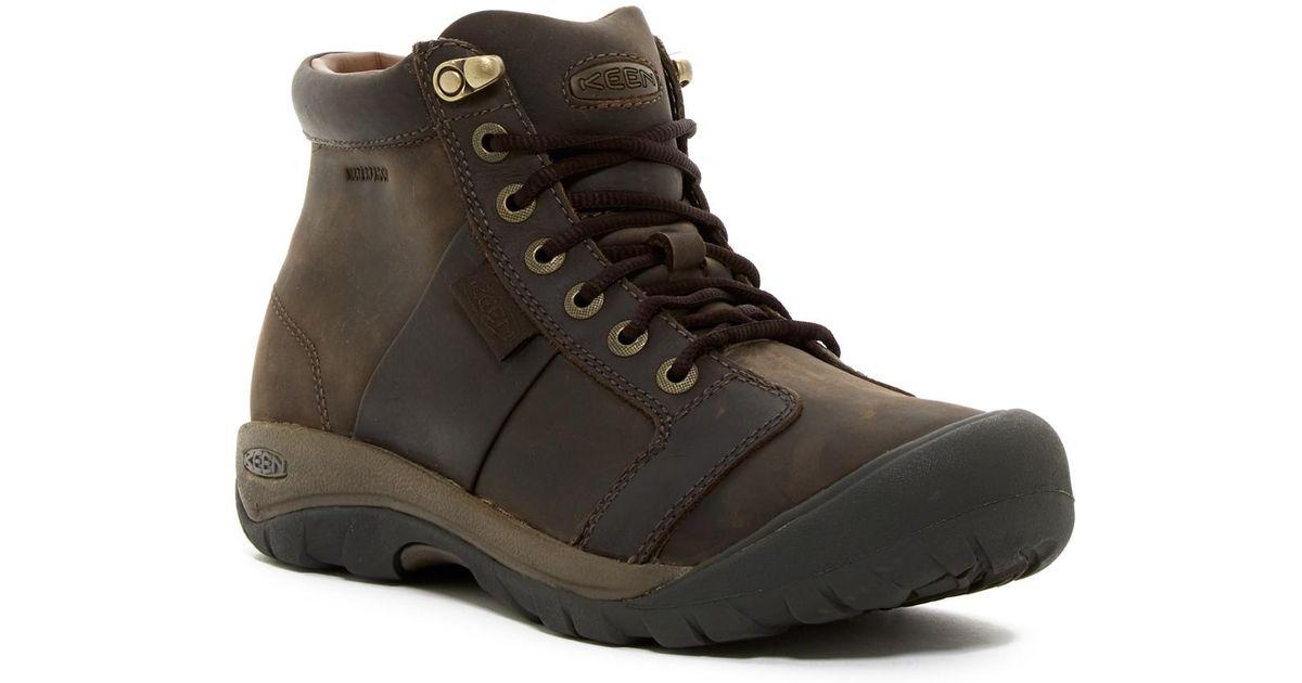 Keen Austin Mid Waterproof Leather Boot
