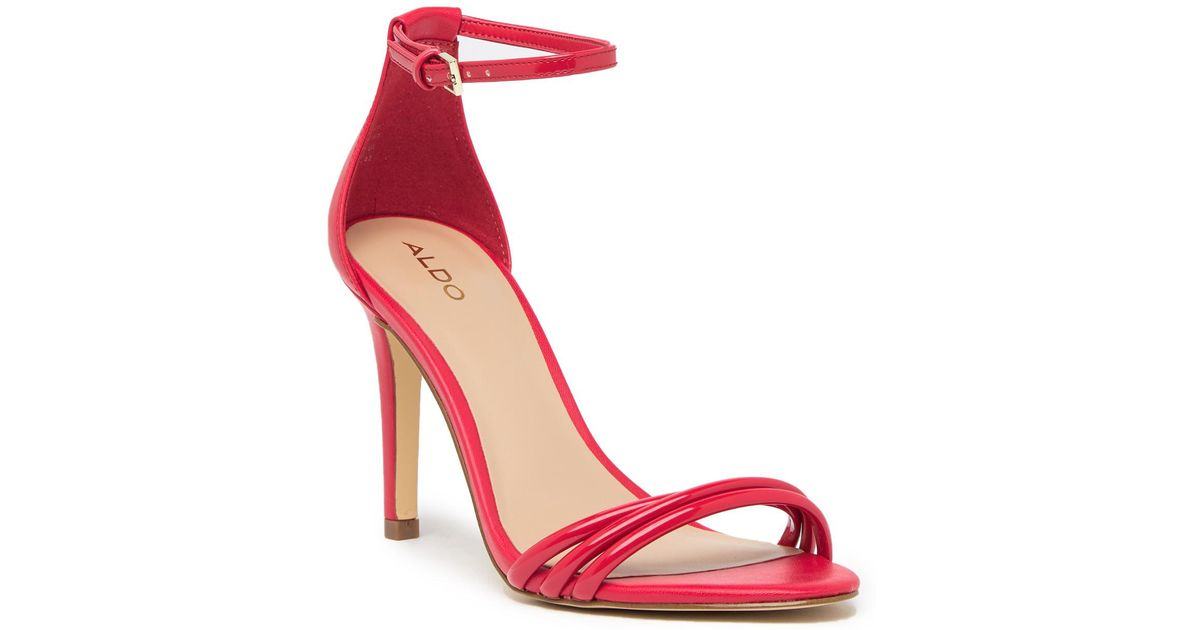 Aldo Fabbrico Heeled Ankle Strap Sandal S2mZT