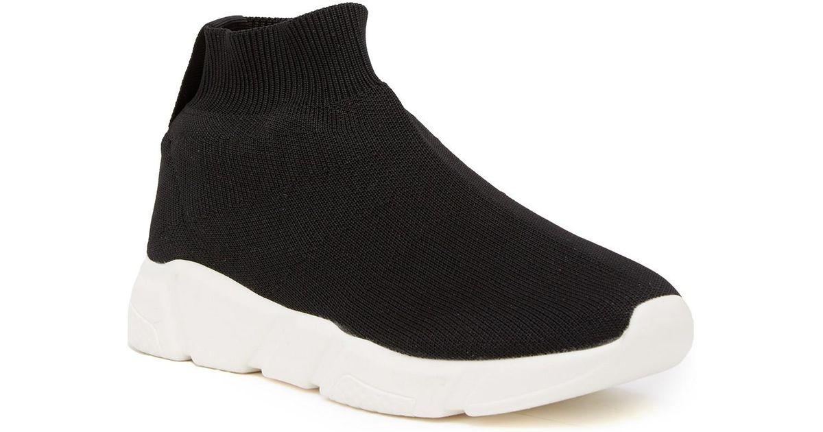660099bd2e1 Steve Madden Black Donovan Sock Sneaker