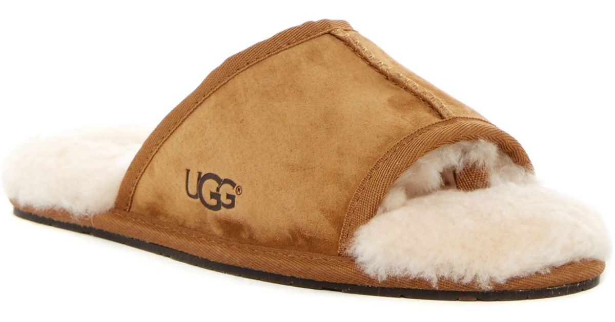 ugg slippers open toe