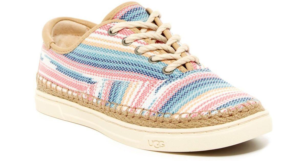 70d97ccc41d UGG Multicolor Eyan Ii Serape Genuine Shearling Lined Sneaker