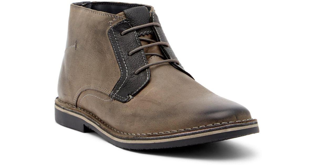Steve Madden Herrin Leather Chukka Boot