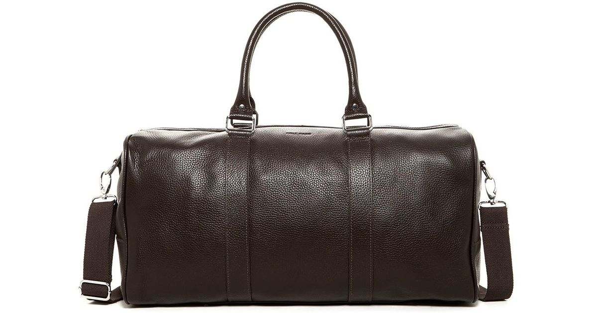 Lyst - Cole Haan Leather Duffle Bag for Men 7f33bff02c7f0