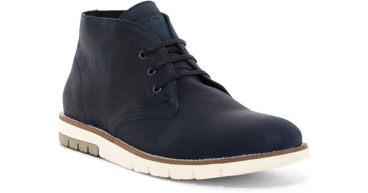7471fb367c2 Wolverine Blue Gibson Chukka Boot for men