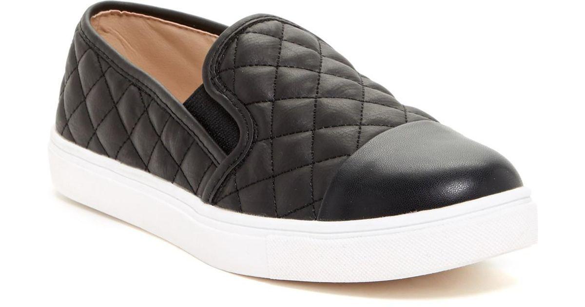 8ed1cc1cb42 Lyst - Steve Madden Zaander Slip-on Sneaker in Black