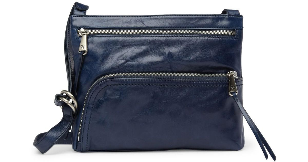 98eafcd9c1 Lyst - Hobo Cassie Leather Crossbody Bag in Blue