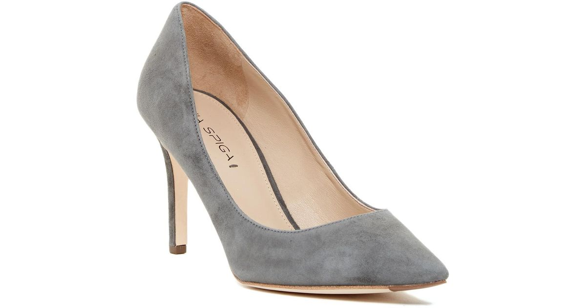 d8990b203b Lyst - Via Spiga Carola Pump in Gray