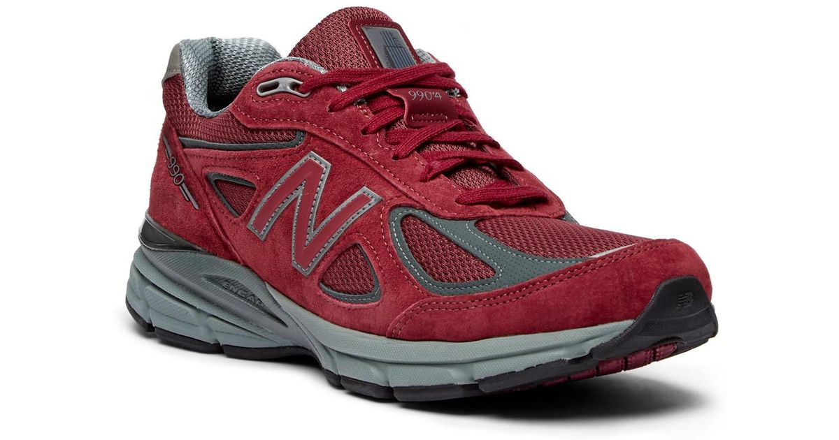 promo code 16b36 2788e New Balance Red 990 Color Up Sneaker for men