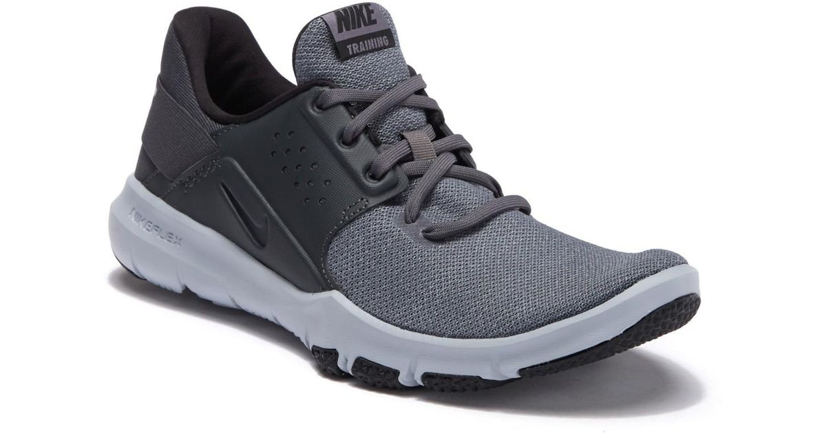 39a842f035ca1 Lyst - Nike Flex Control 3 (atmosphere Grey game Royal vast Grey) Men s  Cross Training Shoes in Black for Men - Save 25%