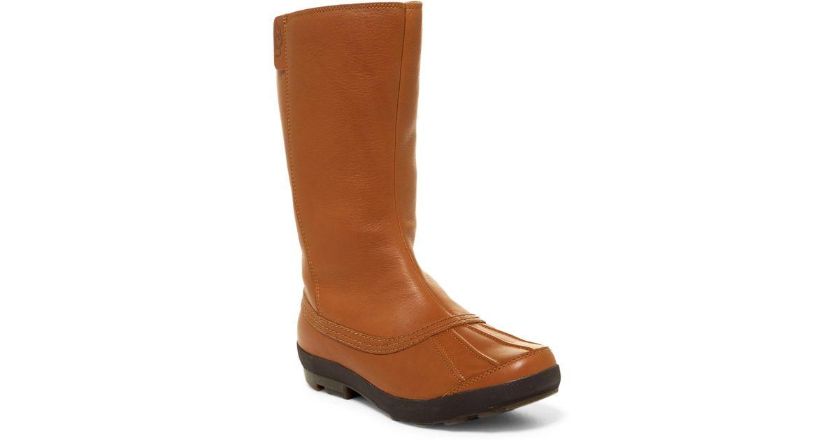 b6eefb41c34 Ugg Brown Belfair Waterproof Uggpure Boot