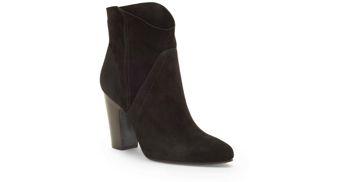 14bf67cf6b3 Lyst - Vince Camuto Creestal Western Bootie in Black
