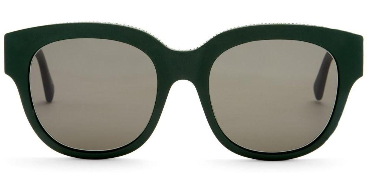 Chain Trimmed Sunglasses Stella McCartney BxjxW854S
