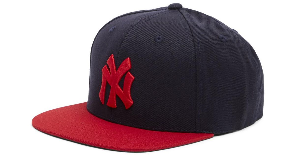 c03f5d5af2a Lyst - American Needle 400 Series New York Yankees Baseball Cap in Blue for  Men