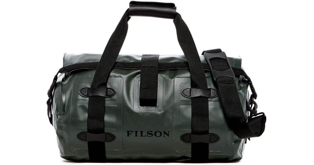 6d5fc97087 Lyst - Filson Small Dry Duffle Bag in Green for Men