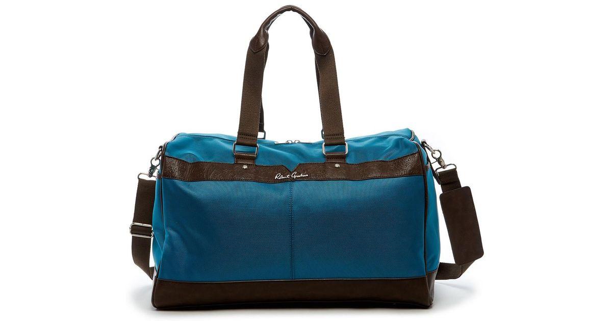 Robert Graham Olivetti Weekend Bag in Blue for Men - Lyst ff84fd00d049e