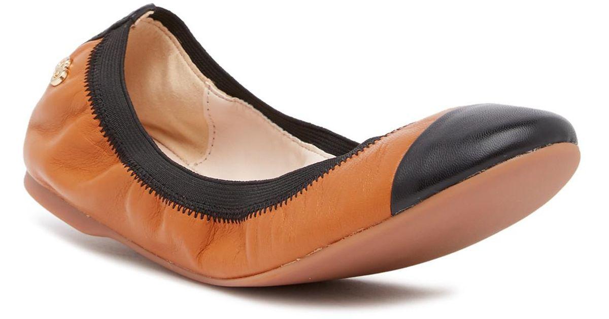 Cole Haan Leather Elbridge Ballet Flat