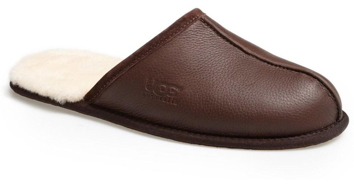44ed909eb43d7 Lyst - Ugg Scuff Slipper (men) in Brown for Men