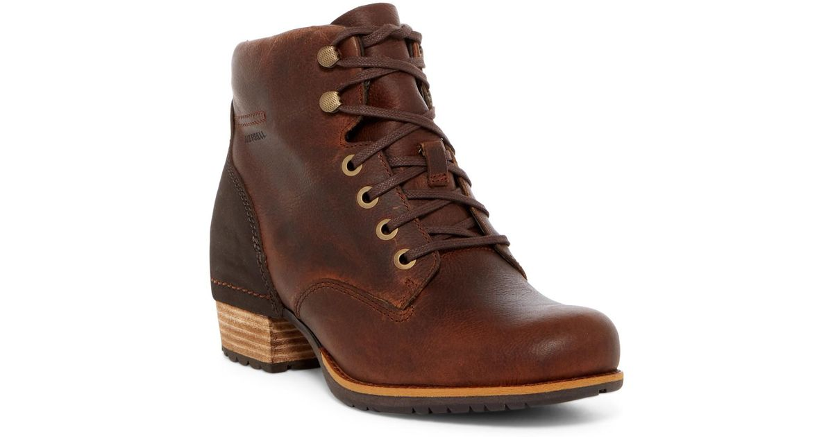 cbb10ef76ab Merrell Brown Shiloh Leather Lace-up Boot