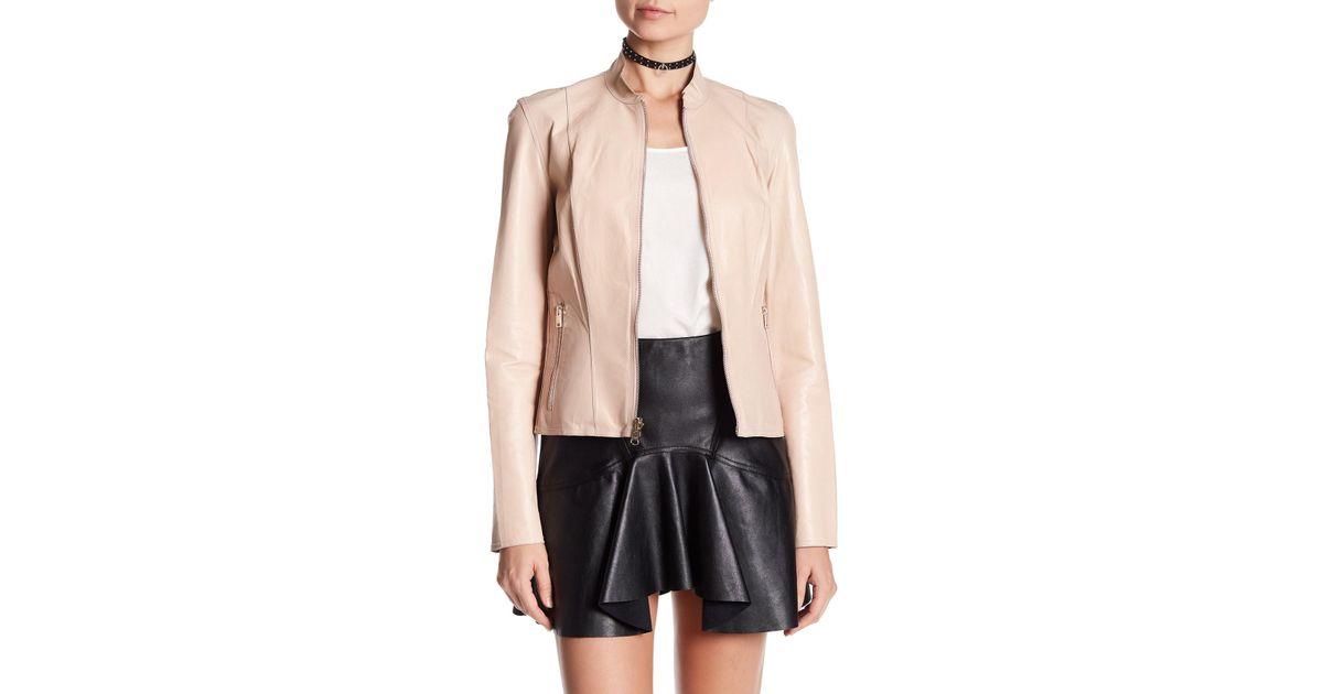 2117207e2 Lamarque Multicolor Chapin Reversible Leather Jacket