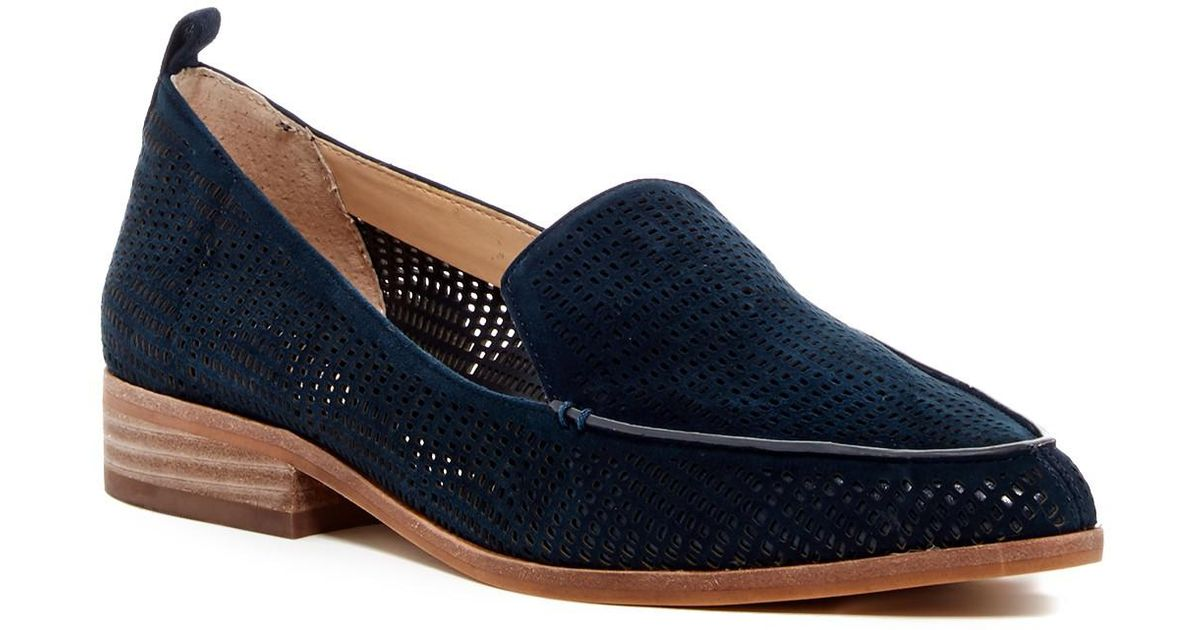 c0dd6daf1be Lyst - Vince Camuto Kade Cutout Loafer - Slim Width Available in Blue