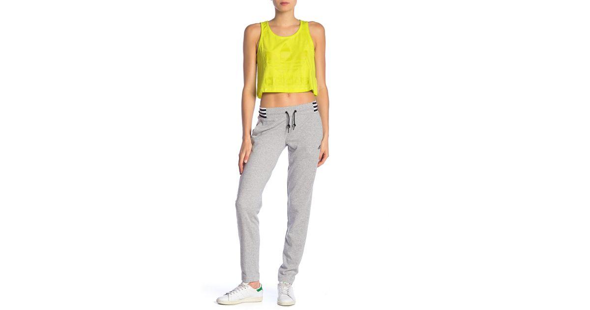 3 stripes Pant (Mgreyh) (£49.95) adidas Originals