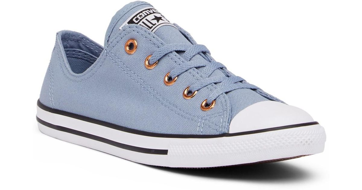 Taylor Canvas All Chuck Oxford Sneakerwomen Converse Blue Star Dainty 80OnwPkNX