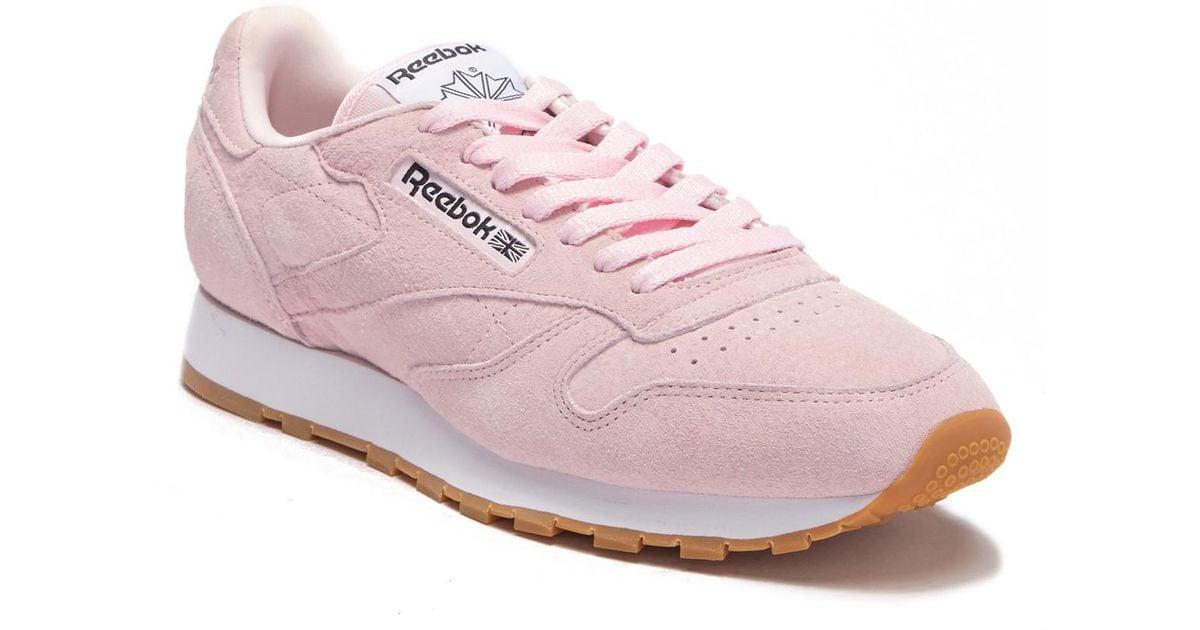 reebok pastel shoes