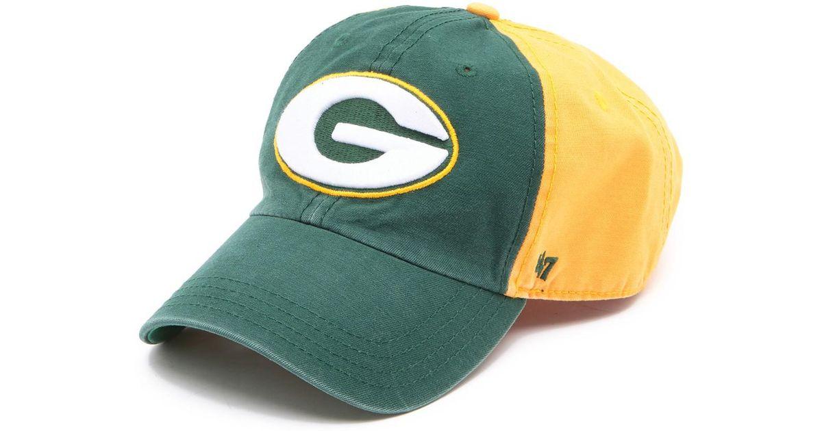 833e8e430b8eb Lyst - 47 Brand Nfl Flagstaff Packers Baseball Cap for Men