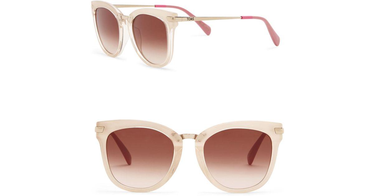 b1123c15d28b Lyst - TOMS Women's 51mm Adeline Sunglasses